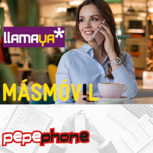 Pepephone Llamaya móvil datos en Estepona